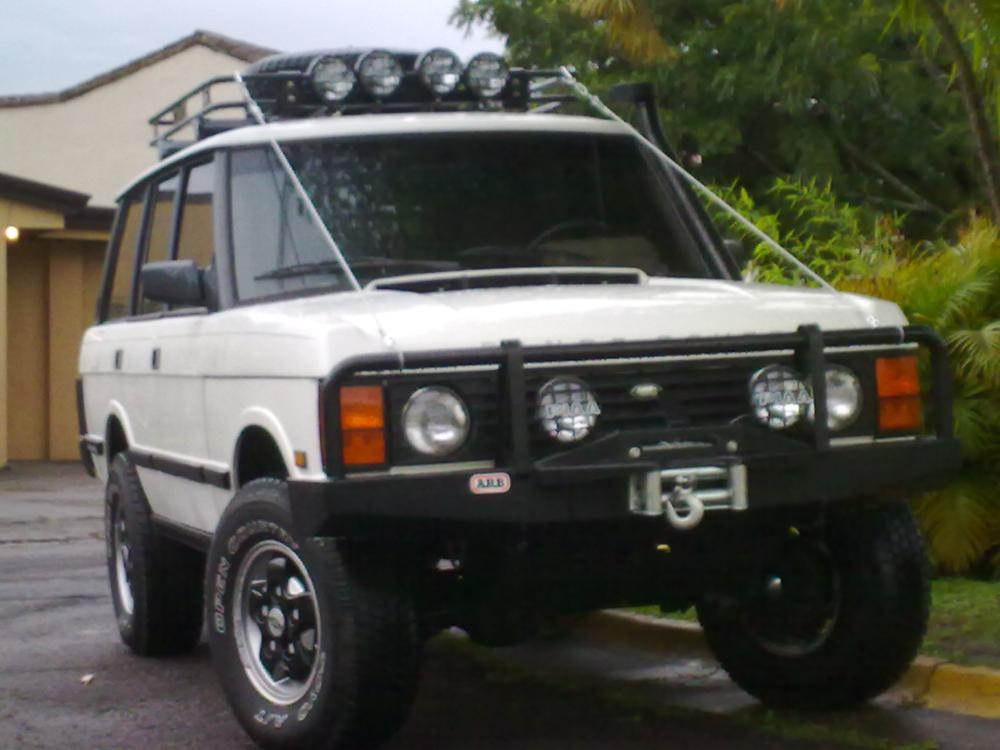 2 Post Lift Garage >> Post your range rover classic photos!! - Page 4 - Land Rover Forums : Land Rover and Range Rover ...