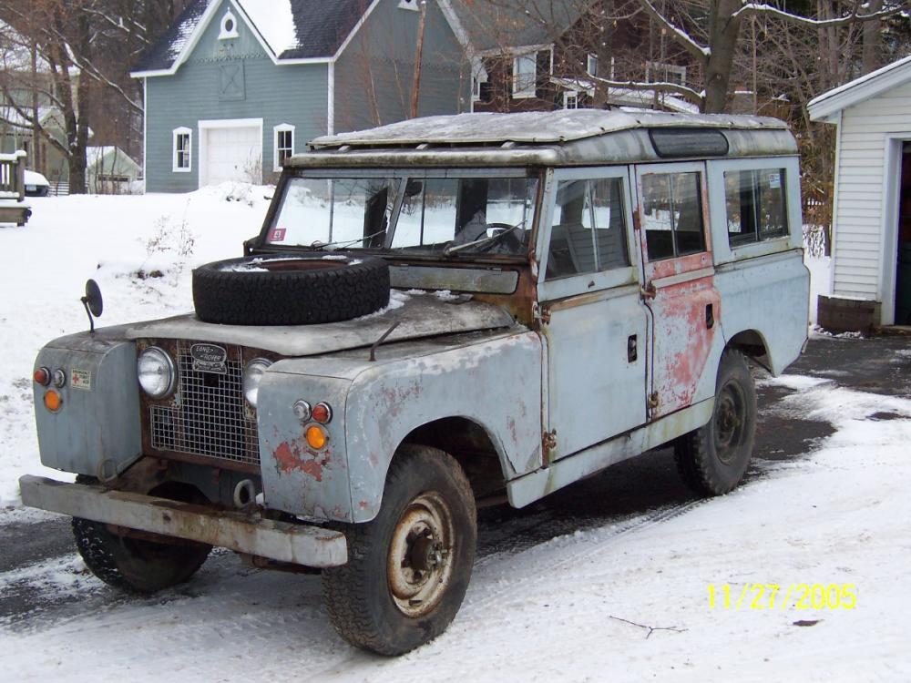 Series 109 Station Wagon parts for sale - Land Rover Forums : Land