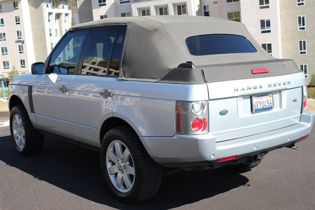 2007 Range Rover Nce Custom Convertible Land Rover
