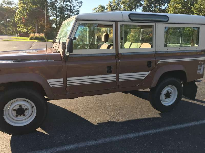 FS: 1983 Land Rover One Ten LHD - Land Rover Forums : Land Rover and