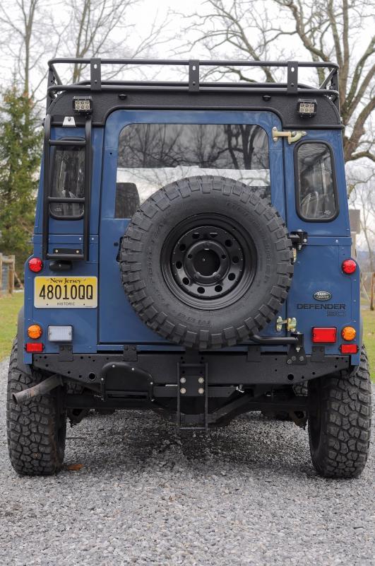 Nj Vehicle Inspection >> '92 Defender 90 - Arles Blue restored - Land Rover Forums ...
