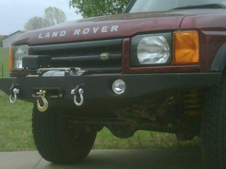 Winch Bumper Project Land Rover Forums Land Rover And