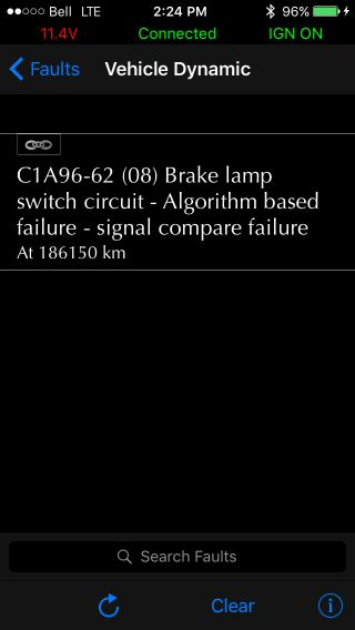 New Brake Light Switch - Land Rover Forums : Land Rover and