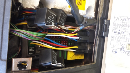 land rover discovery ii fuse box integrated relay repair ... range rover fuse box replacement