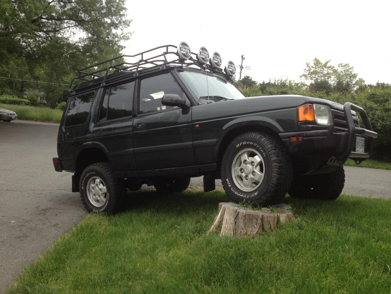 Land Rover Alexandria >> 1995 land rover discovery 1 (lifted with many extras) - Land Rover Forums : Land Rover and Range ...