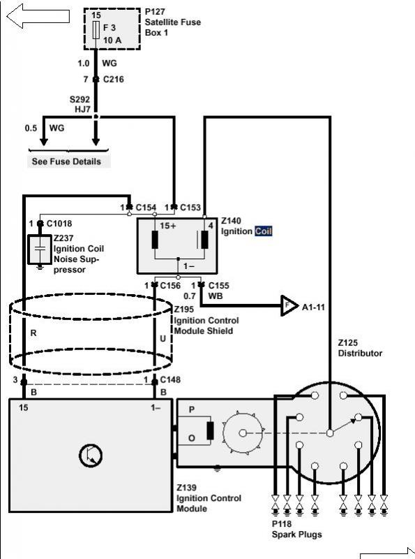 1995 Land Rover Discovery Wiring Diagram : Disc coil wire connections land rover forums