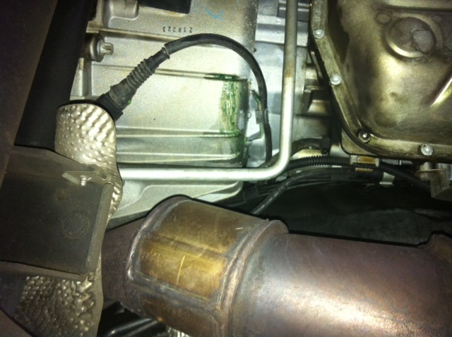 Coolant Leak From Rear Of Engine Land Rover Forums