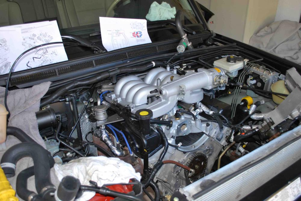 04 Discovery 4 6 Engine Swap With Okeuro Long Block Land