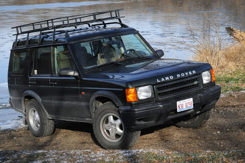 picked up a roof rack and ladder d2 land rover forums land rover and range rover forum. Black Bedroom Furniture Sets. Home Design Ideas