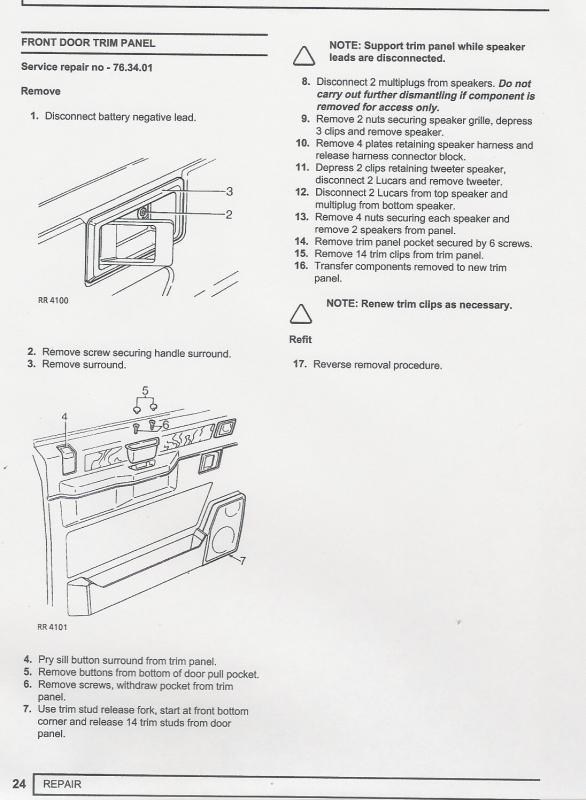 Collection Rover 75 Door Handle Removal Pictures - Losro.com