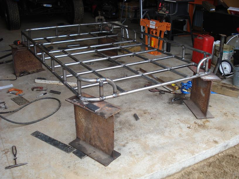 Roof Rack Build Land Rover Forums Land Rover And Range