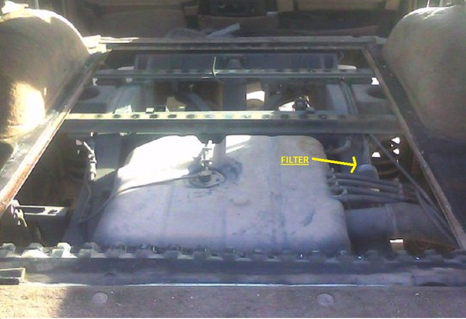Missing a Fuel Filter | Land Rover and Range Rover ForumLand Rovers Only