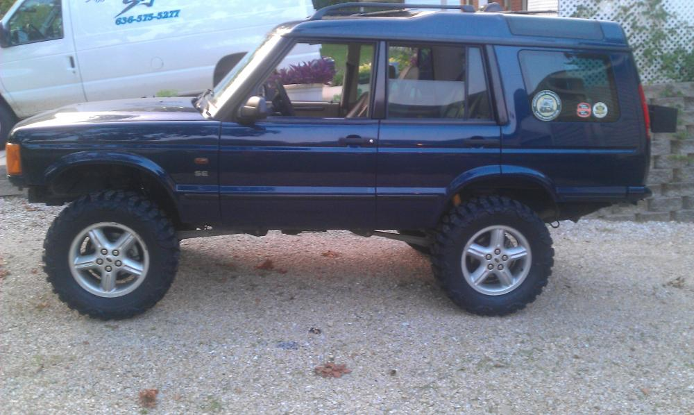 2 Quot Terrafirma Suspension Lift Land Rover Forums Land