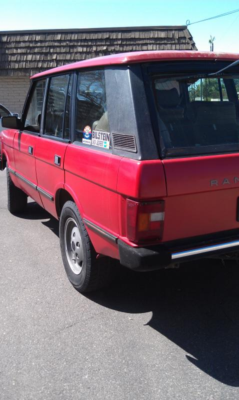 Land Rover Scottsdale >> 1990 Range Rover Classic - Land Rover Forums : Land Rover ...
