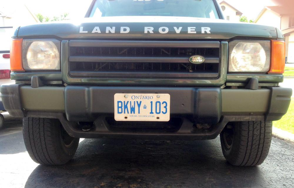 Cut Trim Disco I Front Bumper For Disco Ii Land Rover