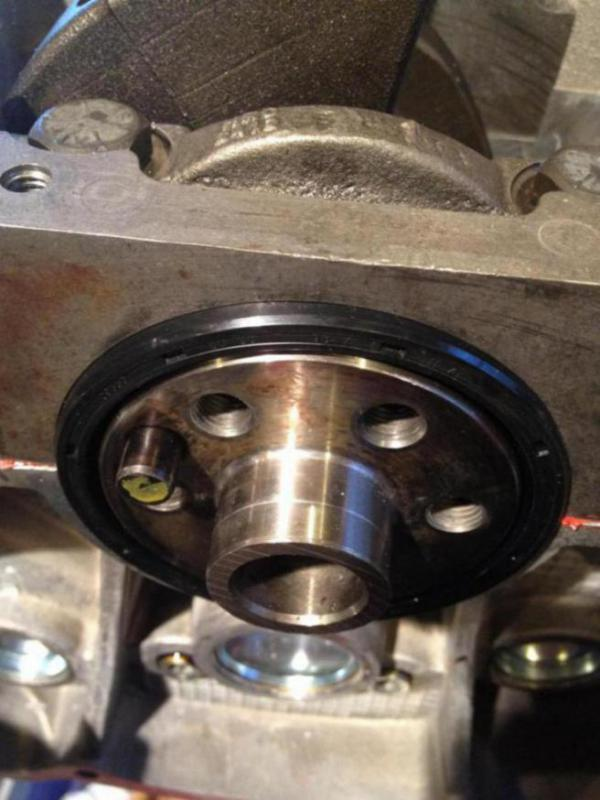 rear main seal install question land rover forums land