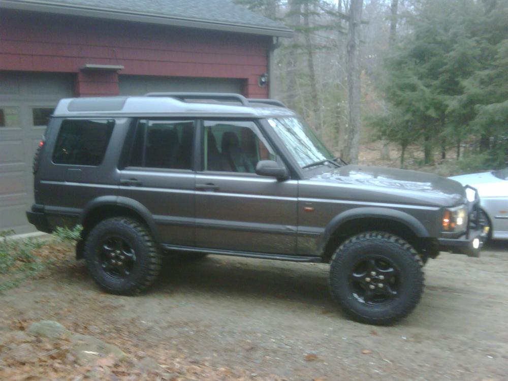 Just Lifted my '04 Discovery 2 - Land Rover Forums : Land ...