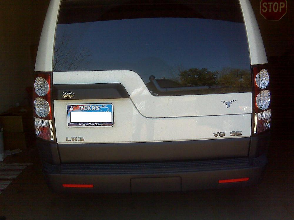 Lr4 Taillights Onto Lr3 Land Rover Forums Land