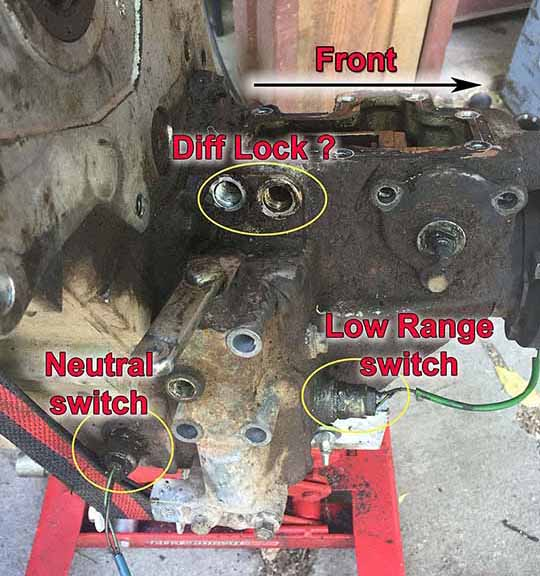 Transfer Case install questions - Land Rover Forums : Land