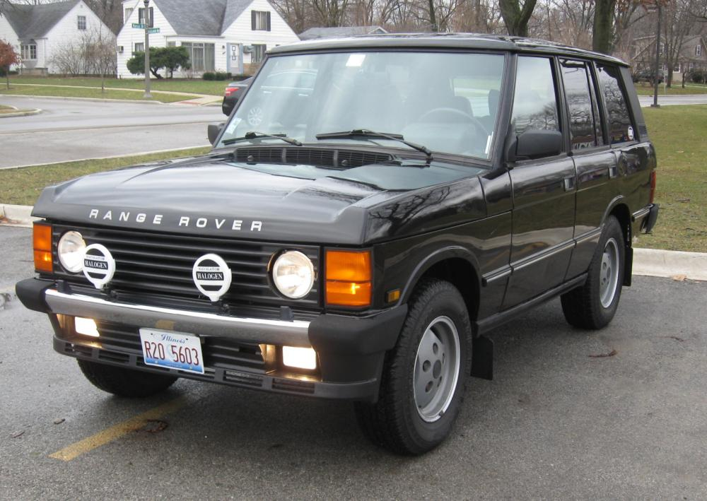 1990 range rover classic very good shape located in chicago land rover forums land rover. Black Bedroom Furniture Sets. Home Design Ideas