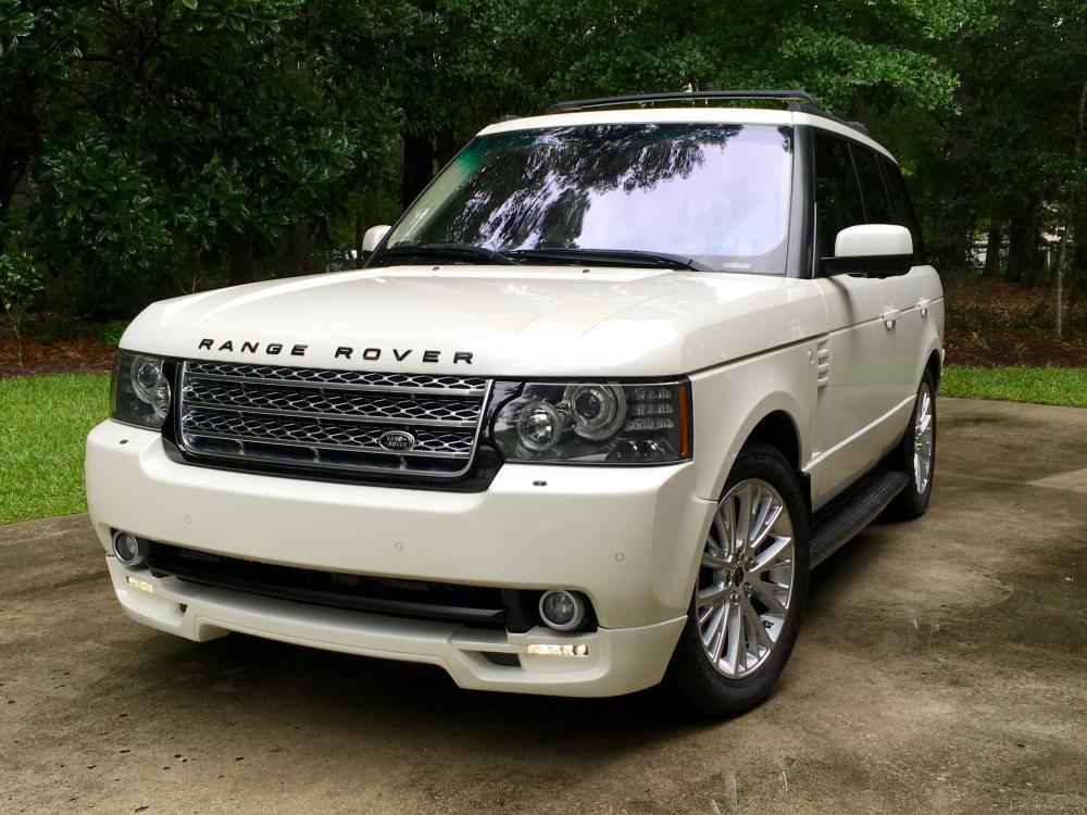 2011 Range Rover Autobiography Autobiography White  Land Rover
