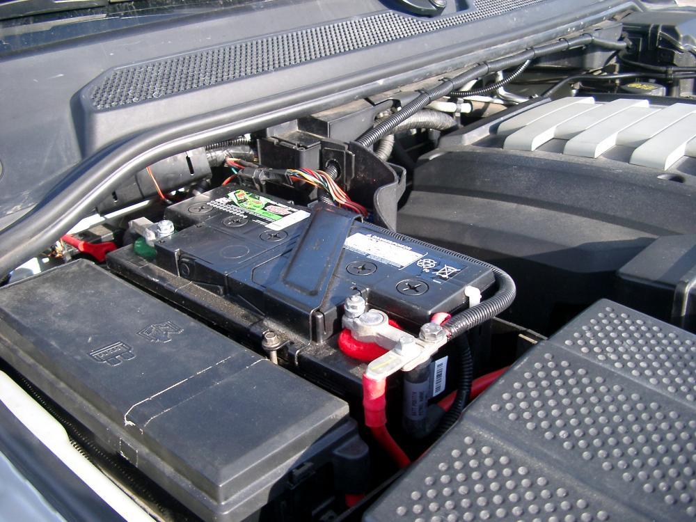 2005-08 LAND ROVER LR3   Battery Holder.
