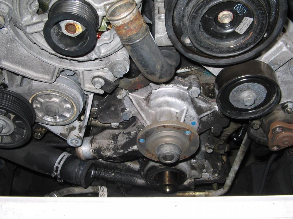 Mystery Coolant Leak Land Rover Forums Land Rover And