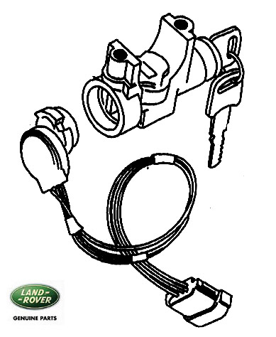 Range Rover Classic Ignition Lock