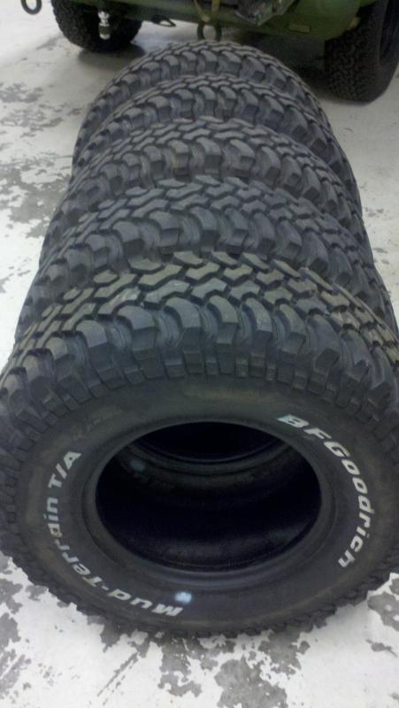 tire set 5 28575r16 bfg mtu0027s 90 or better land rover forums land rover and range rover forum