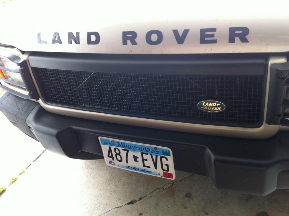 Range Rover Usa >> Saudi/Texas Grille - Land Rover Forums : Land Rover and ...