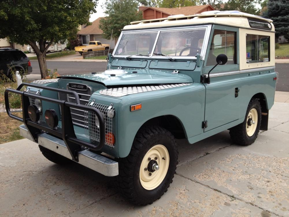 1972 land rover series 3 88 swb for sale land rover. Black Bedroom Furniture Sets. Home Design Ideas