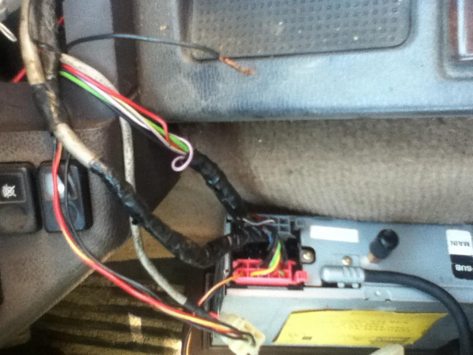 94 rrc radio wiring - land rover forums : land rover and range rover forum