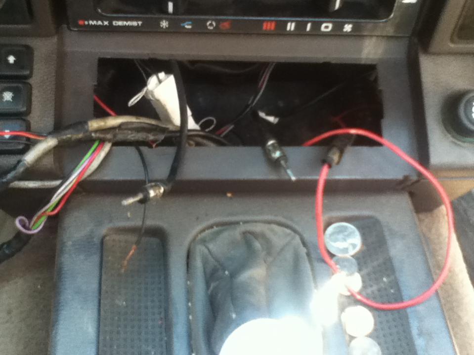 land rover radio wiring