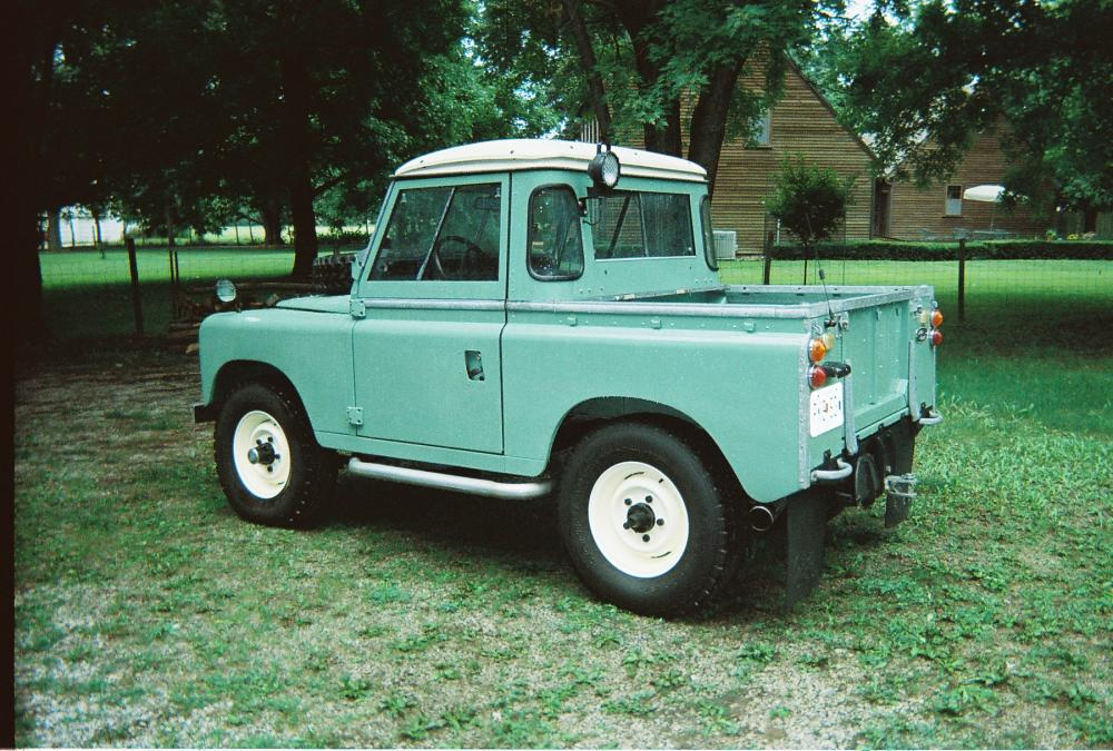 restored 1969 series iia 88 half cab for sale - land rover forums