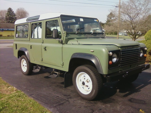 1985 Defender 110 with two (possibly related) transfer case issues