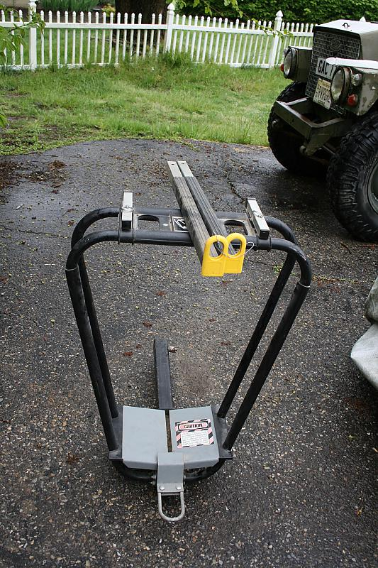 hitch comfort extension carrier and bike roverrover land freelander fa for rack loaded landrover with without lf bicycle ii en trailer load rover paulchen