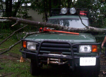Click Image For Larger Version Name: Tree Falling On Land Rover 2 Views  ...
